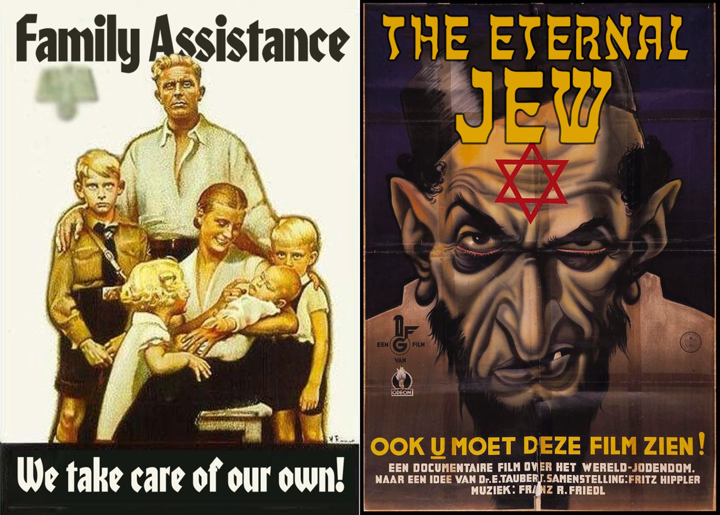 Propaganda - family vs. jews