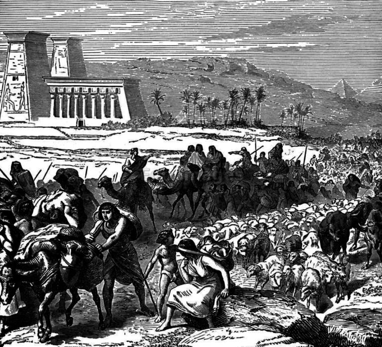 Jews leaving Egypt