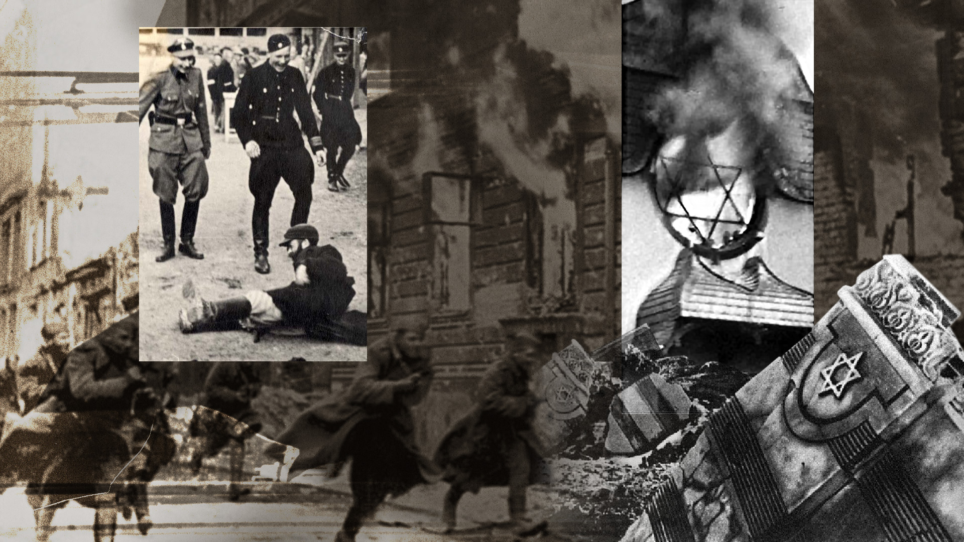 Acts of violence against the Jews leading up to the Holocaust