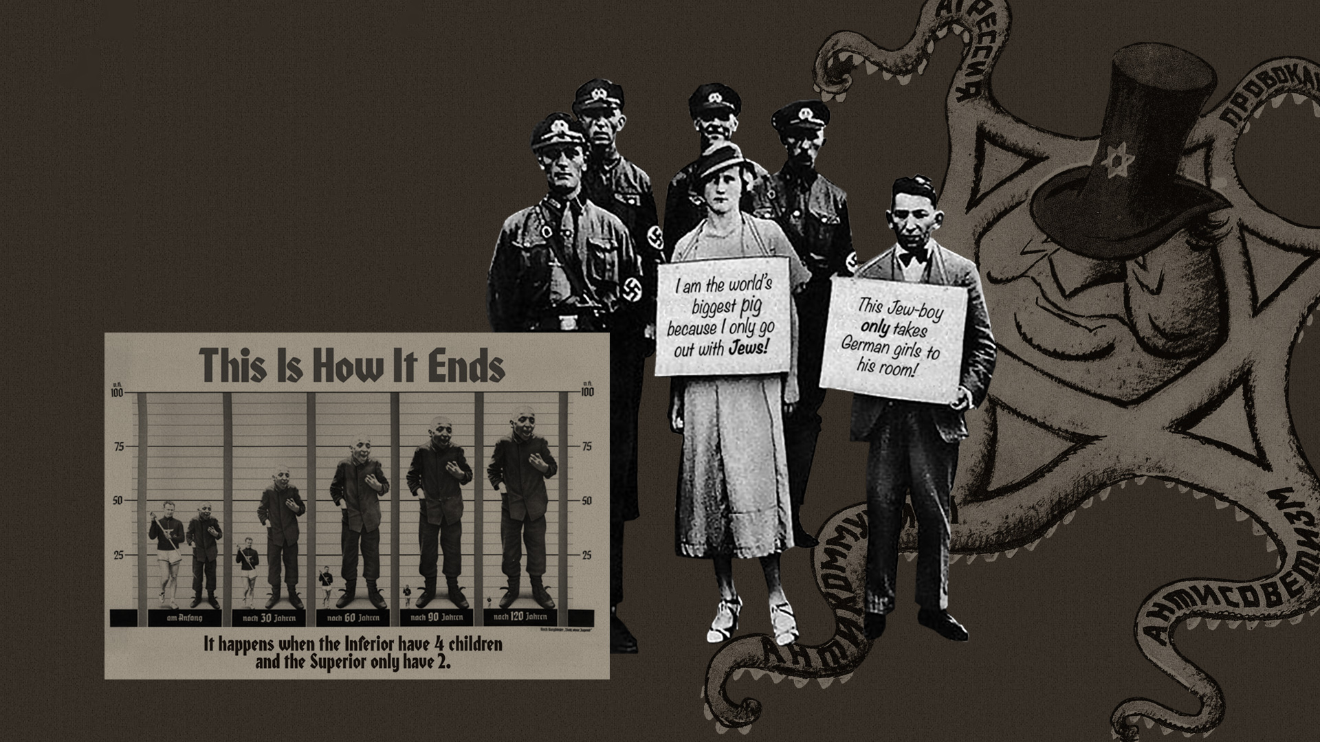 No equal rights for Jews leading up to the Holocaust